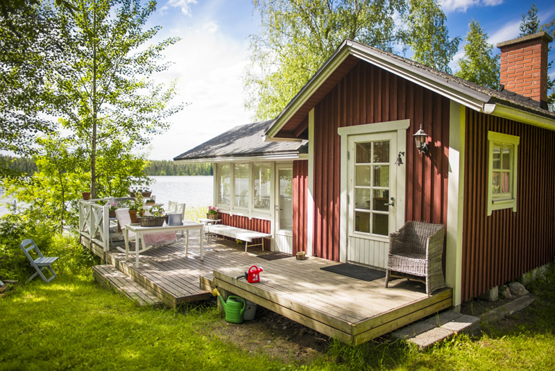 vapaa ajan asunnon myynti Hameenlinna