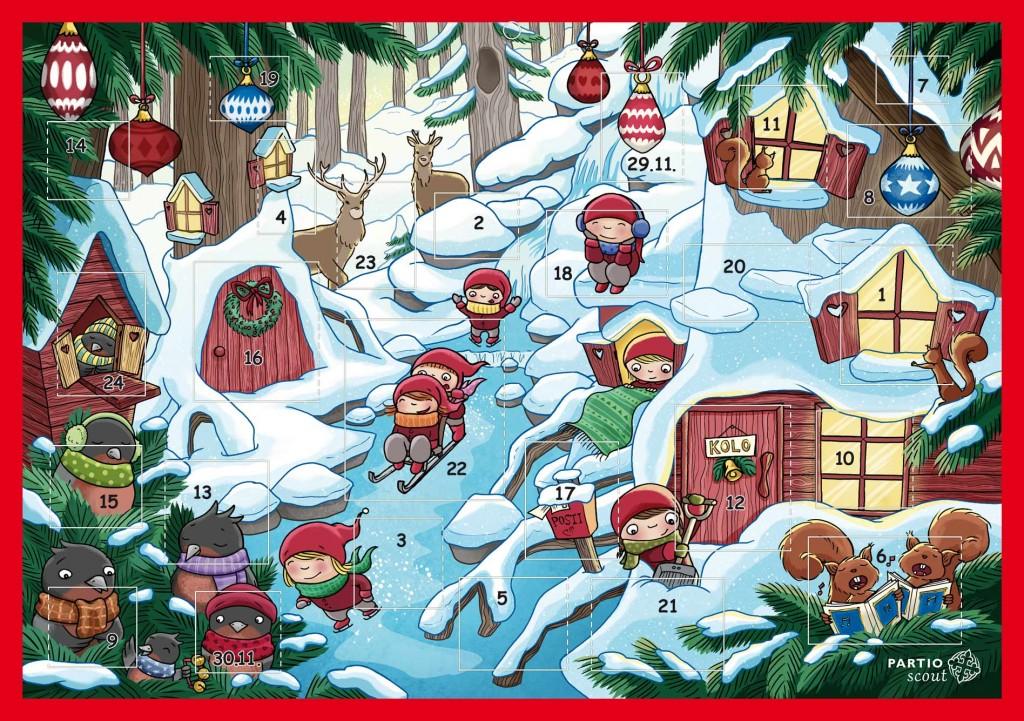Joulukalenteri Kilpailu